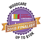 2018 Finalist - Woodcare - Master Painters & Decorators Award up to $10K