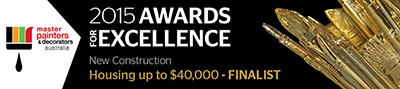 Master Painter & Decorator Awards for Excellence - New Construction up to $40 000 Award Finalist
