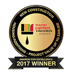 Master Painter & Decorator -  Housing Additions - Project Value up to $300 000 Award
